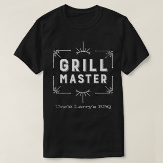 Country Western Grillmaster BBQ Chef T-Shirt