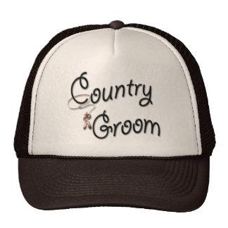 Country Western Groom Hat