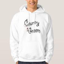 Country Western Groom Hoodie