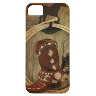 country western horse cowboy boot Lasso Rope iPhone SE/5/5s Case