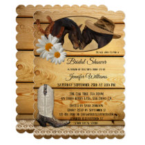 Country Western Horses Bridal Shower Invitation