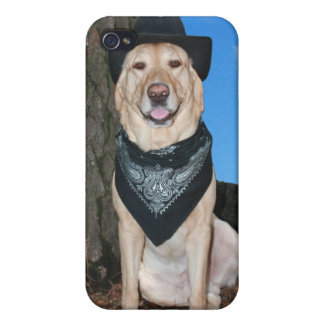 Country Western Lab iPhone 4/4S Case