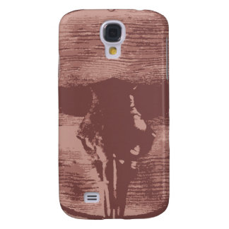 Country Western Longhorns Bull Skull Cowboy Gifts Galaxy S4 Cover