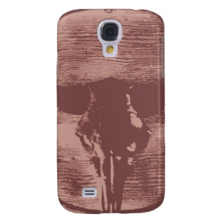 Country Western Longhorns Bull Skull Cowboy Gifts Samsung S4 Case