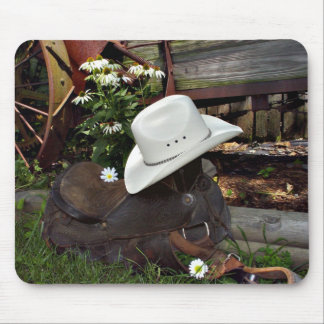 country western mouse pad