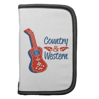 Country & Western Folio Planner