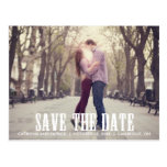 Country Western Save the Date Postcard