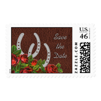 Country Western Save the Date Stamps