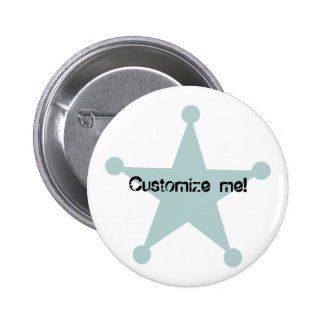 Country Western Theme 2 Inch Round Button