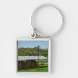 Country Windmill Keychain