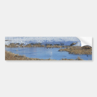 Country Winter Bumper Sticker