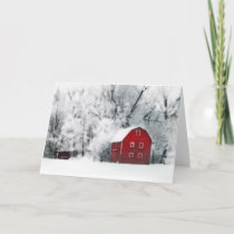 Country winters,Christmas cards