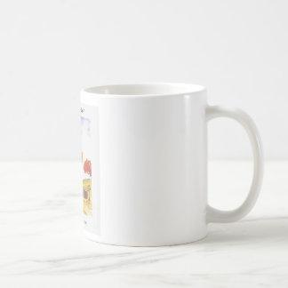 CountryClothesline Original Watercolor Painting Coffee Mug
