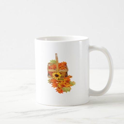 CountryFallBasket062109 Coffee Mugs