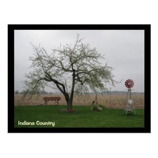 countryliving, país de Indiana Postales