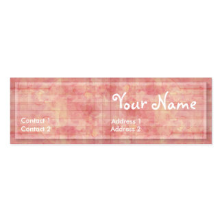 CountryPink Profile Card Mini Business Card