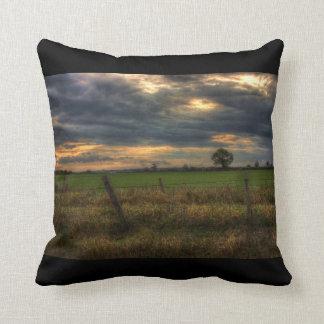 Countryside at Dusk American Mojo Pillow