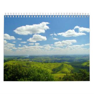 countryside wall calendar