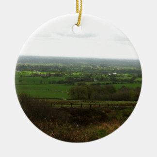 Countryside Ceramic Ornament