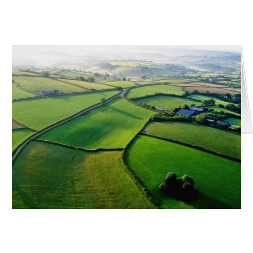 Countryside Devon Greeting Card