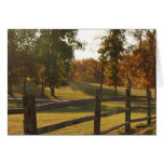 Countryside Fence Card