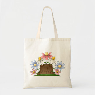 Countryside Flowers Tote Bag