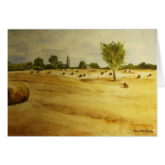 Countryside in France Card