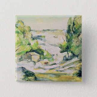 Countryside in Provence Button