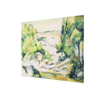 Countryside in Provence Canvas Print