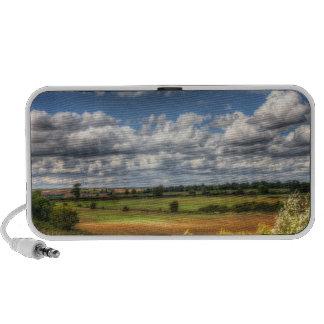 Countryside Landscape Vista iPod Speakers