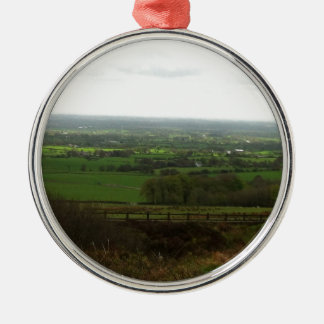 Countryside Metal Ornament
