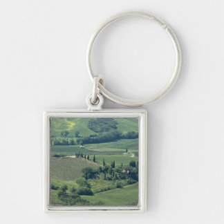 Countryside near Montepulciano, Val d'Orcia, Keychain
