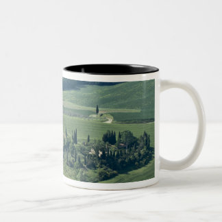 Countryside near Montepulciano, Val d'Orcia, Two-Tone Coffee Mug