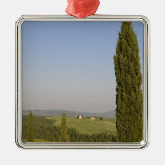 Countryside near Pienza. Val d'Orcia, Siena Metal Ornament