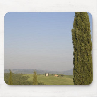 Countryside near Pienza. Val d'Orcia, Siena Mouse Pad