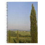 Countryside near Pienza. Val d'Orcia, Siena Note Book