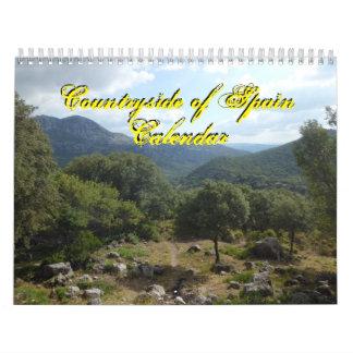 Countryside of Spain 2016 Calendar