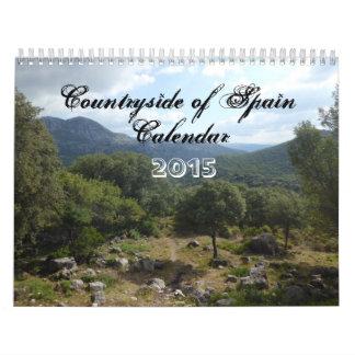 Countryside of Spain Calendar 2015