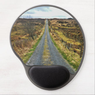Countryside road scenery gel mouse pad