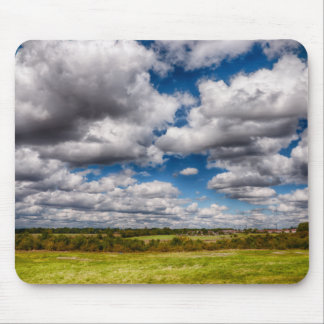 Countryside Skyscape Mouse Pad