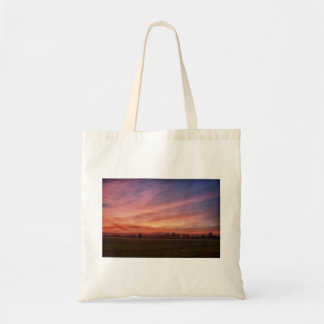 Countryside Sunset Skies Tote bag