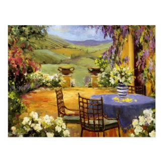 Countryside Terrace Postcard