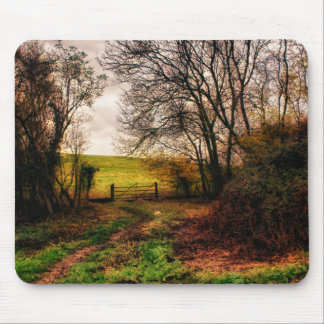 Countryside Walk Mouse Pad
