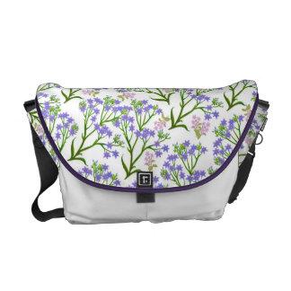 Countryside Wildflowers Rickshaw Messenger Bag