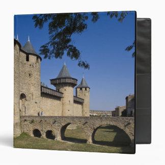 Counts Castle, Carcassonne, Aude, Languedoc, 3 Ring Binder