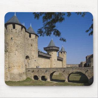 Counts Castle, Carcassonne, Aude, Languedoc, Mouse Pad