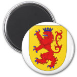 Counts Habsburg Arms, Hungary 2 Inch Round Magnet