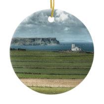 County Antrim's Coastal Causeway, Northern Ireland Ceramic Ornament