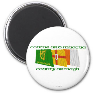 County Armagh Flags Magnet