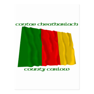County Carlow Colours Postcard